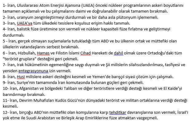 ABD'den İran'a yaptırım kararı! Türkiye muaf tutuldu-1