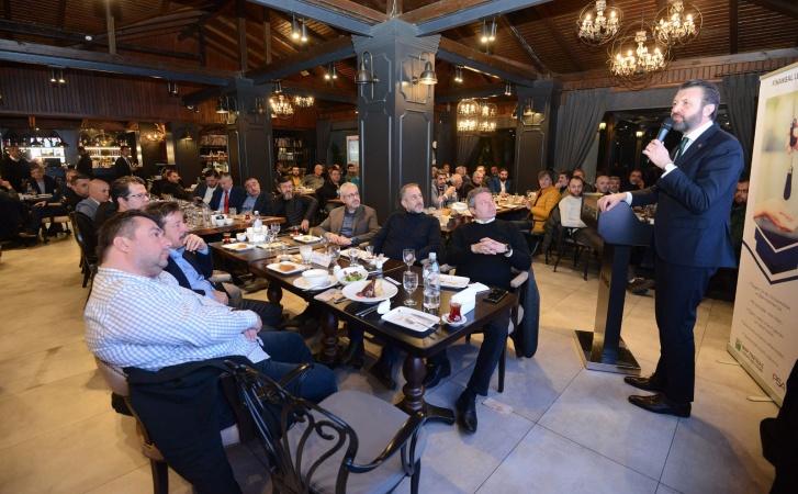 Makine sektörü temsilcileri 'PSA Finans' liderliğinde toplandı!-1