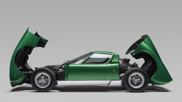 1971 model Lamborghini elden geçirildi