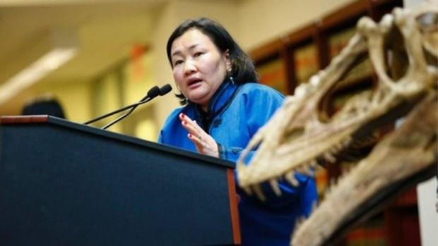 ABD kaçak fosilleri Moğolistana iade etti