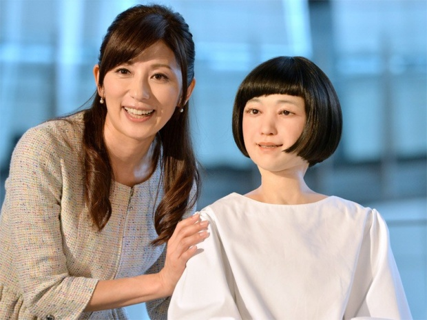 Çocuklar gibi büyüyebilen robot geliştirildi