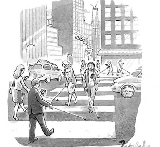 Düşündüren sosyal ağ karikatürleri