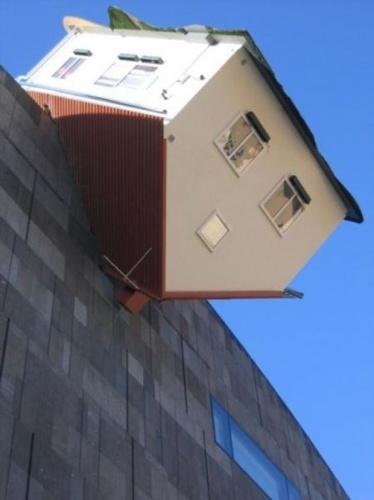 İnanılmaz evler görenleri şaşırtıyor!