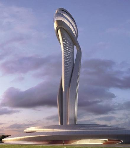 İşte 3. havaalanının kulesi